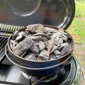 山キャンプ飯|ダッチオーブンで作るスパイシーチキン