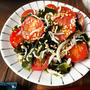 ♡超簡単小さなおかず♡しらすとトマトの酢醤油和え♡【#時短#節約#ヘルシー#乾燥ワカメ】