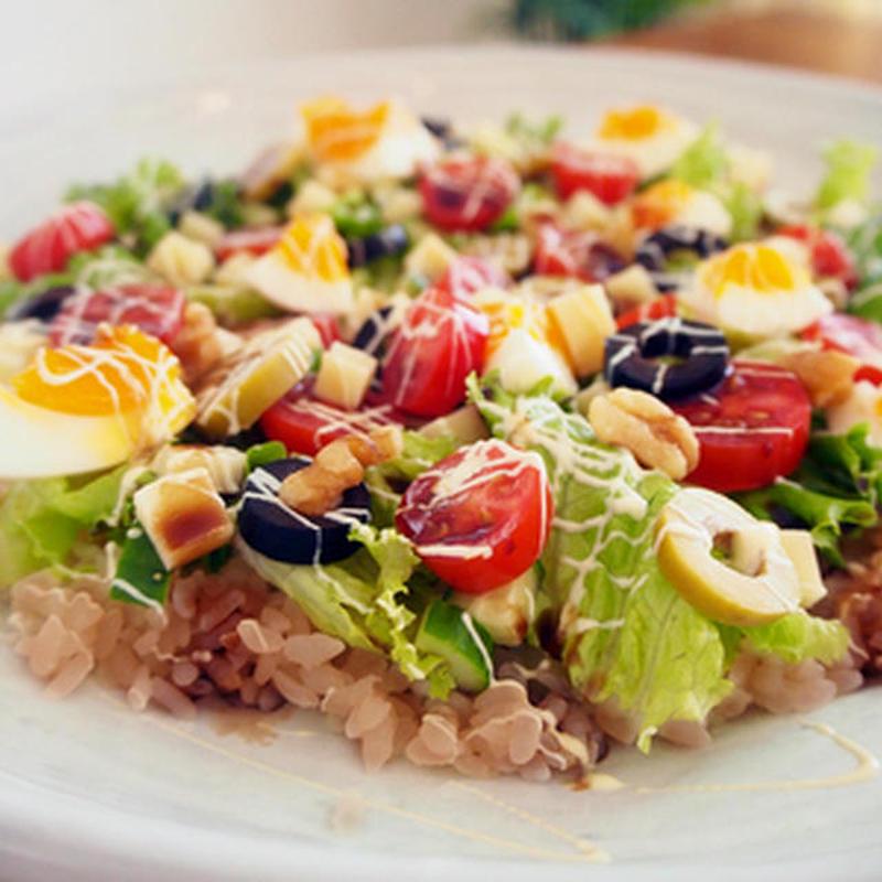 野菜たっぷり!華やか「サラダちらし」を作ってみよう♪
