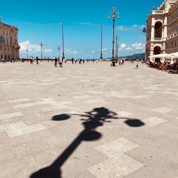待望の方位取り Trieste トリエステ
