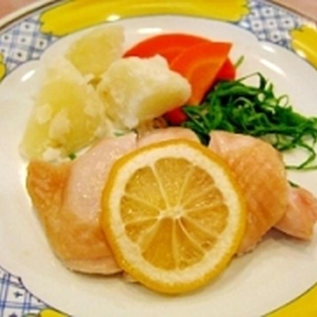 チキンのレモンバター焼き
