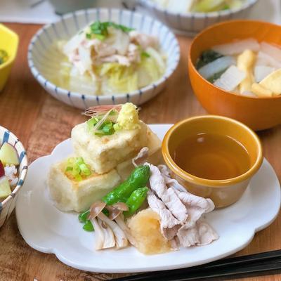 揚げ出し豆腐の人気レシピ10選 アレンジレシピ5選