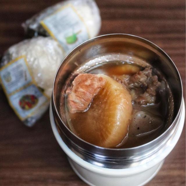 【おでん弁当】今日のみんなのお弁当 #スープジャー #撮影
