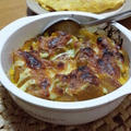 かぼちゃの煮物をリメイク!かぼちゃのマヨチーズ焼き by カシェットさん