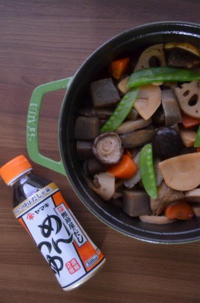 ストウブで「筑前煮」とお刺身の晩ごはん。#だし活キャンペーン
