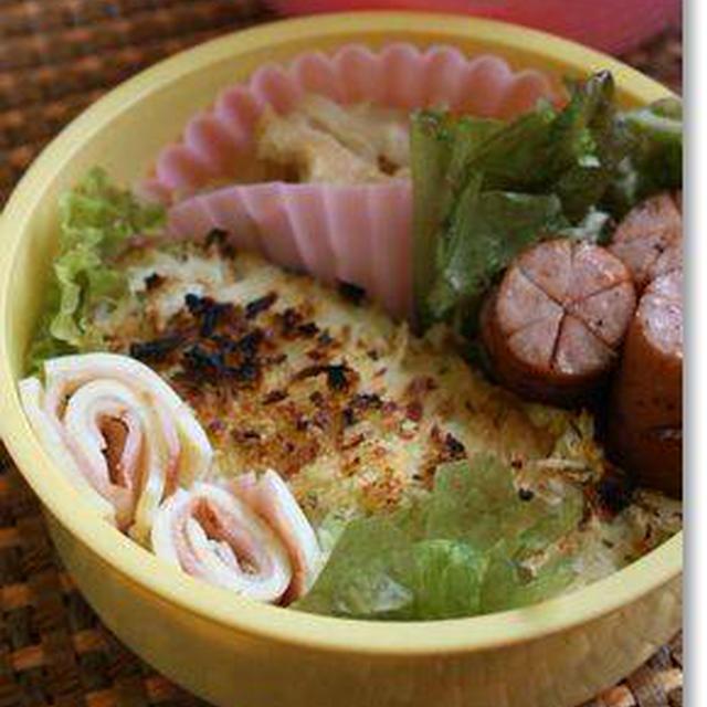 タラのマヨパン粉焼き&大根と豚肉の炒めもの