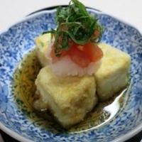★かけトマレシピ★ 彩りバッチリ 揚げ出し豆腐にもかけトマ!