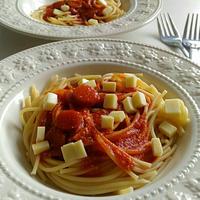 《レシピ有》デルモンテ基本の完熟トマト・ソースでWチーズパスタ、水着&買い物、ダンスレッスン。