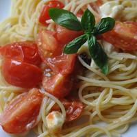 ベイクドトマトのスパゲティ
