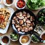 韓国料理で晩御飯❤レシピあり