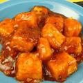 辛くて旨い!揚げないでOK!カリカリ揚げ豆腐のチリソースレシピ by 銀木さん