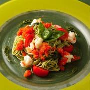 バジルペーストと魚介の冷製パスタ 香西 思穂吏シェフのレシピ
