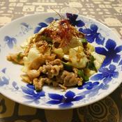 豚肉とキャベツのニンニク味噌炒め
