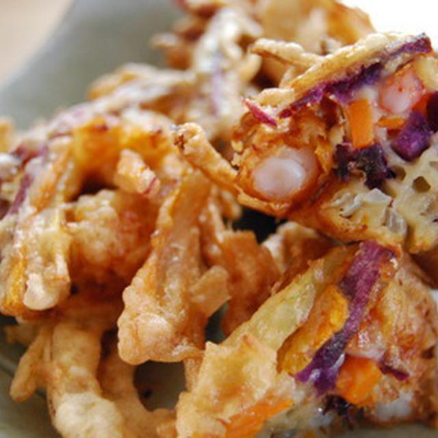 365日レシピNo.333「タカエビと紫芋のがね」