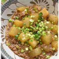 大根使い切りメニュー|和風麻婆大根|ヤマキさんプロデュース食の情報サイト「おいしい食卓」オープン!