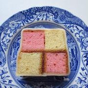 <イギリス・レシピ> バッテンバーグ・ケーキ【Battenberg Cake】