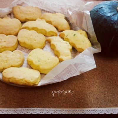 HMで♥かぼちゃクッキー