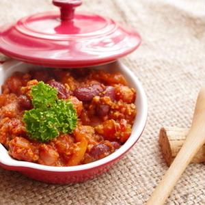 ひと皿でしっかり栄養チャージ♪お豆たっぷり!チリコンカンレシピ
