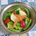 ☆豆もやしといろいろ野菜のスチームサラダ☆