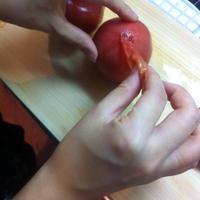 いわき市のサンシャイントマトを使ったトマトスープ☆