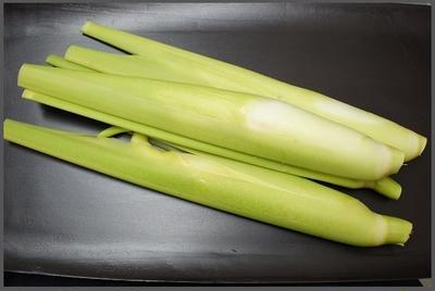 マコモダケのオイスターソース炒め(レシピ)