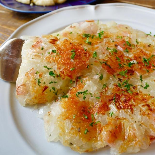 【レシピ】玉ねぎとハムのチーズガレット