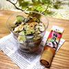 レンコンとヒジキの梅和えサラダ