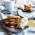 【おかしをバージョンアップ】ホームパイでカフェ風ホットアップルパイ