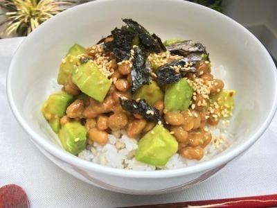 アボカド納豆丼レシピ