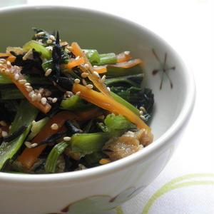 乾物を使ってお料理上手に!ひじきの炒めものレシピ