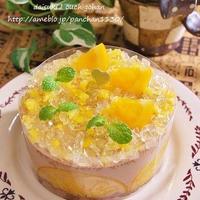 オレンジとふんわりチョコのミニケーキ