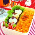 ハロウィンにぴったり オレンジ鮮やか★キャロットピラフ お弁当レシピ カフェ弁