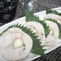 【レシピ】アレンジ)鶏ハム⇒チーチク鶏ハム(^^♪
