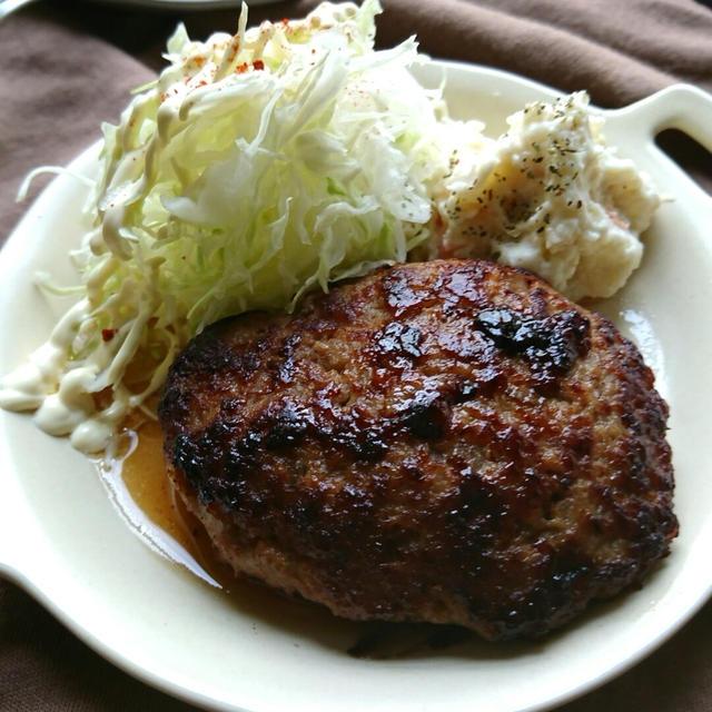 肉汁うま〜!マヨワインめんつゆハンバーグ(作りおき常備菜)〜レシピ画像リニューアルしました♪