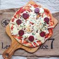 どこにでも売っている材料でフライパンで簡単ピザ