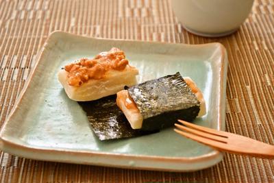 【ピーナツバター DE 磯辺(いそべ)餅 】日米夢のコラボ~♪(印刷用)