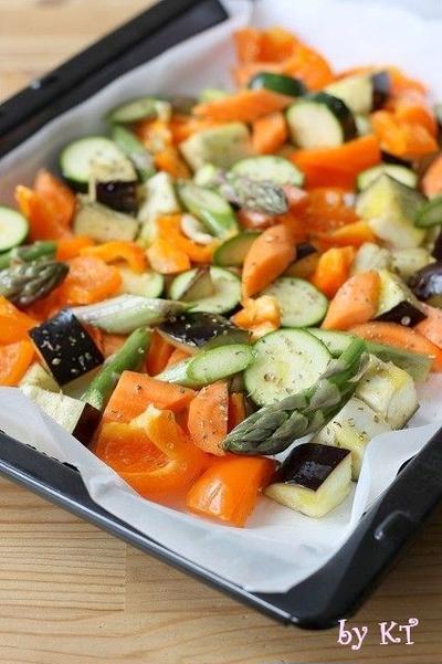 ロースト野菜☆オレガノ風味