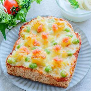 朝からしっかり食べよう!とろ~り濃厚「明太チーズトースト」
