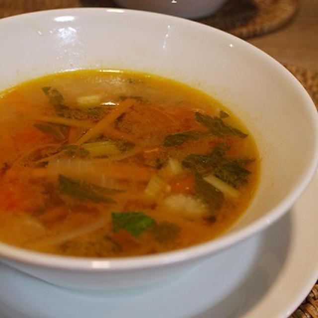 野菜だけのヘルシー具だくさんスープ♪ ダイエットにも!