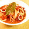 簡単イタリアン♪イカのトマトソース