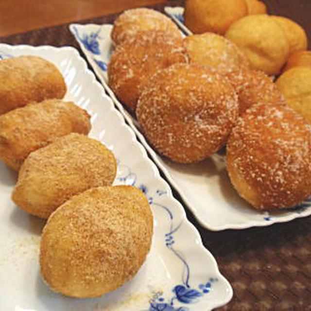 きなこ揚げパンと揚げあんドーナツ(レシピ付)