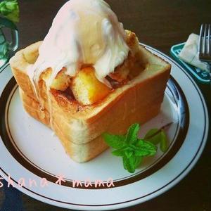 さくさく甘い!「ハニートースト」カフェ風アレンジ