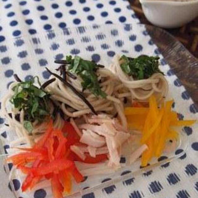 *すっきりきれいになる夏の薬膳蕎麦サラダ*