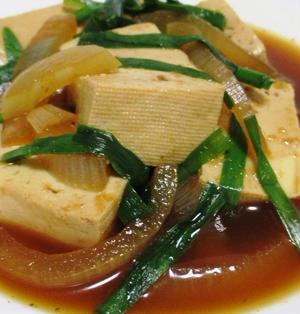 豆腐の焼肉のタレ煮込み<超カンタン♪>