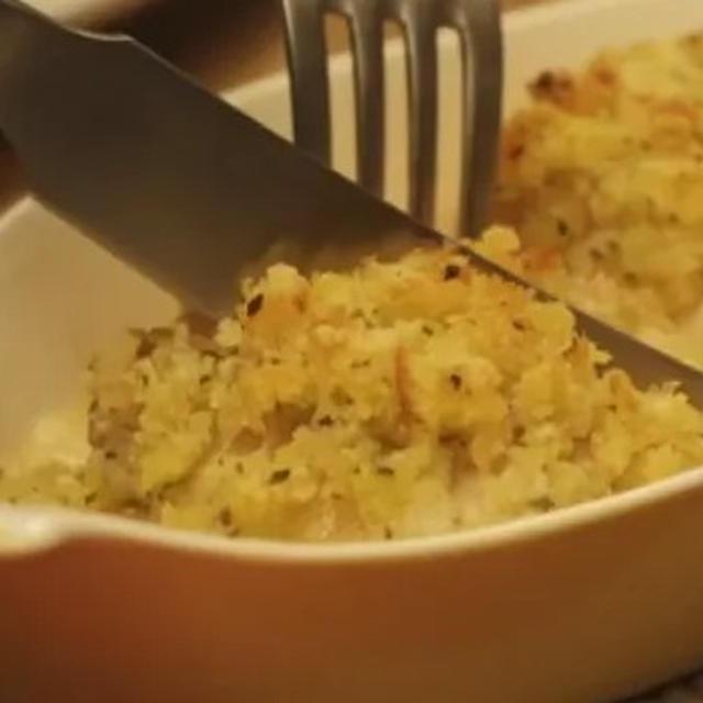 鶏肉の香草パン粉焼き&明太子のサワークリームデップ @ きのう何食べた?