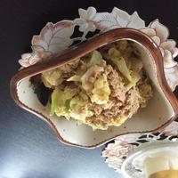 春キャベツとツナの胡麻マヨサラダ