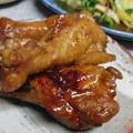 手羽元の生姜醤油煮