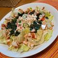 くずし豆腐のふわふわサラダ