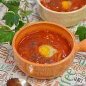 スパイシーな巣ごもり風トマトスープ