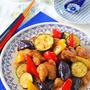 夏の作り置きやお弁当に!少ない油で夏野菜と鶏肉の南蛮漬け♪